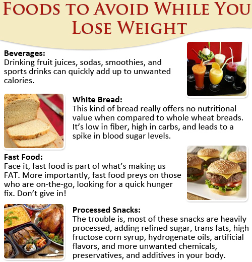 eat food to lose weight