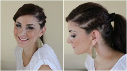 double-french-braided
