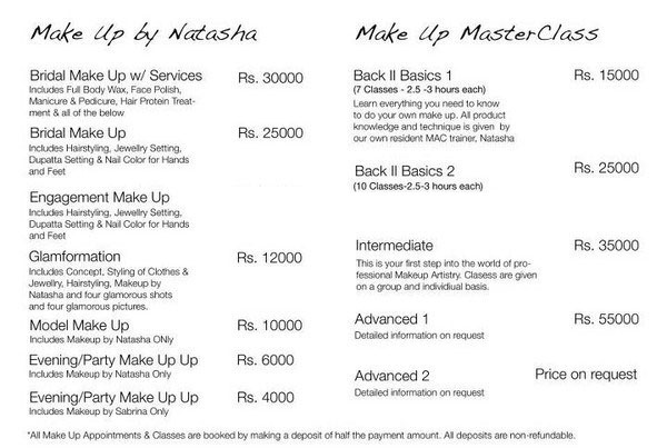 Natasha Salon Services Complete Details Saloni Health