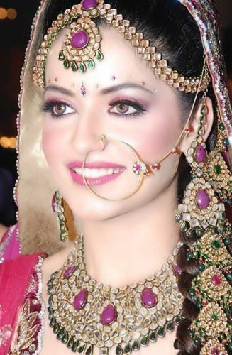 Bridal Makeup With Models1