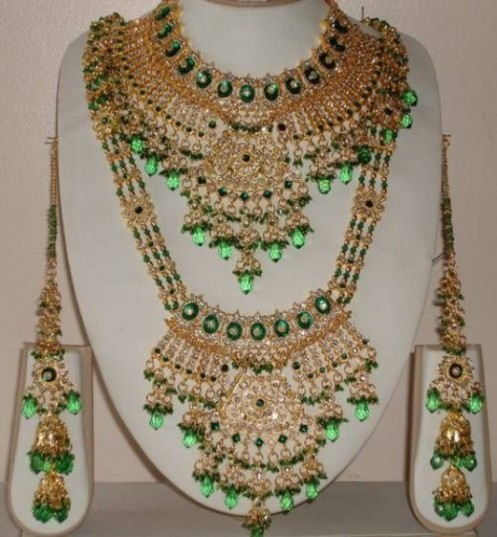 Elegant Jewelry Design for Pakistani Brides