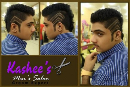 Kashee's Men Saloon Services Charges Price List