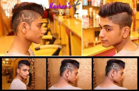 Kashee's Men Saloon Services Charges Price List4