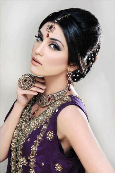 Complete Wedding Makeup G2671 : Khawar Riaz Bridal Salon Services Complete Details ...