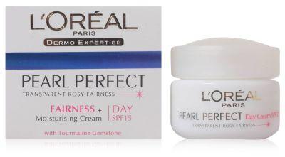 L'Oreal Paris Pear Perfect Transparent Rosy Fairness Day Cream