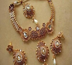 Latest Bridal Wedding Jewellery Sets 2014-151
