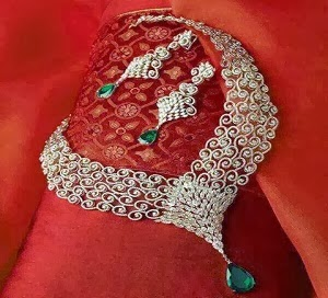 Latest Bridal Wedding Jewellery Sets 2014-159