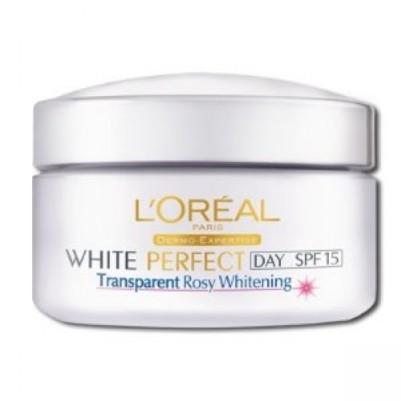 Loreal Paris Pearl Perfect Transparent Rosy Fairness day cream1