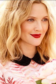 Actress and Beauty Icon Drew Barrymore