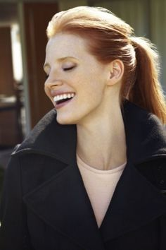 Actress and Hollywood beauty icon Jessica Chastain