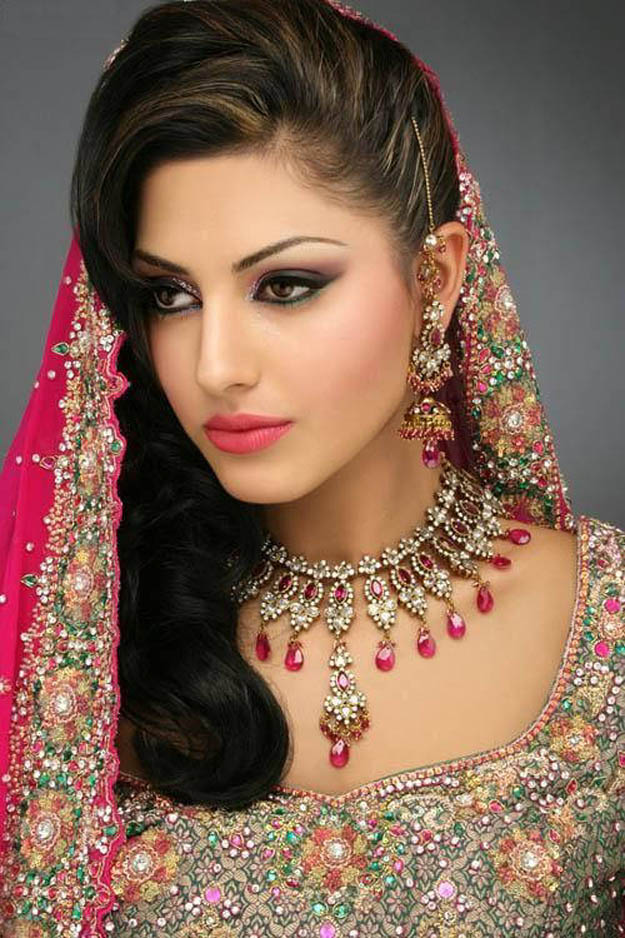 rose beauty parlour bridal makeup pics