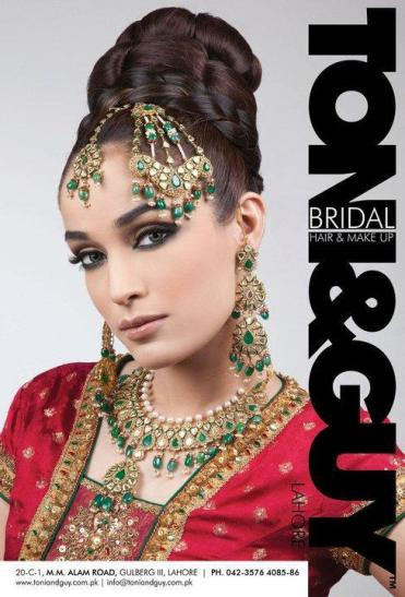 Bridal Look By Toni&Guy 2012