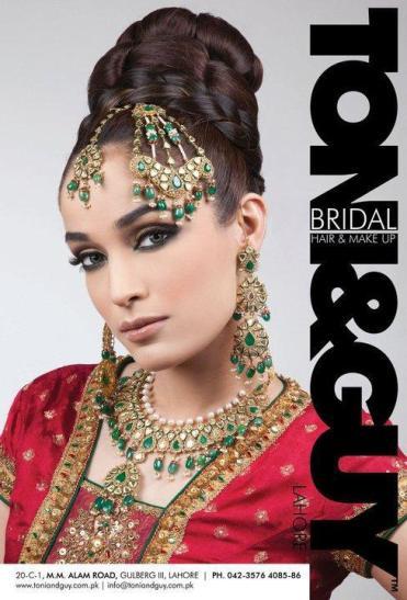 Bridal Look By Toni&Guy 2012
