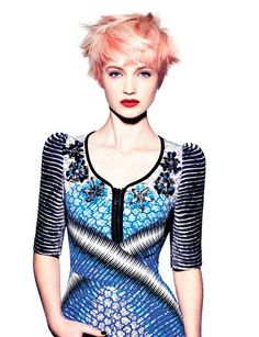 Girls Hair Style By Toni&Guy 2012
