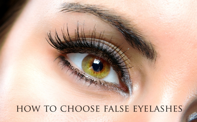 how to put on false eyelashes when you wear glasses