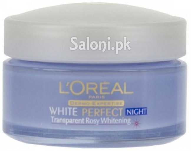 saloni special product review l oreal paris white perfect fairness revealing night cream. Black Bedroom Furniture Sets. Home Design Ideas