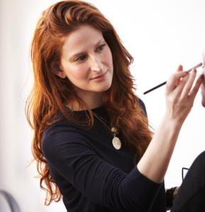 Makeup artist Katey Denno