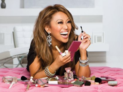 Mally Roncal, makeup artist and founder of Mally Beauty.