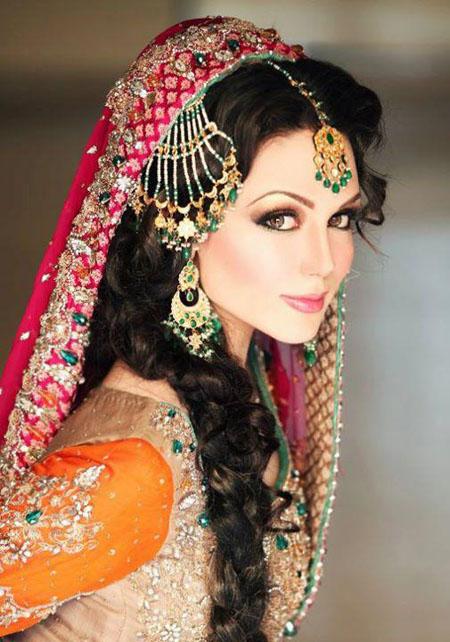 Bridal Makeup Model Images : Latest Nabila Makeup Shoot For Models And Brides Saloni ...
