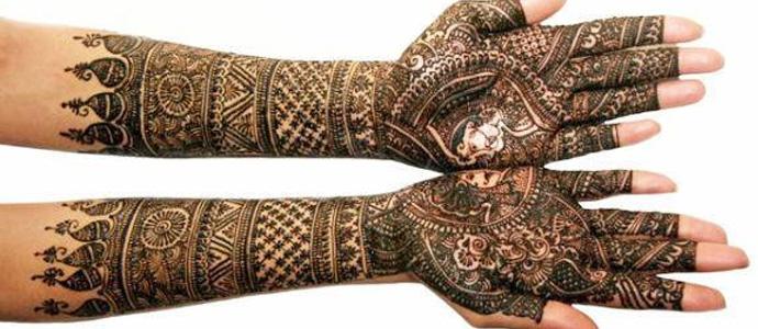 Jaipuri Bridal Mehndi Designs : Latest bridal mehndi and hairstyling by kashee s
