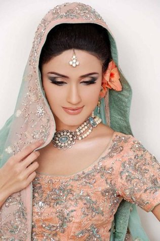 Engagement Makeup By Rabia Shiraz