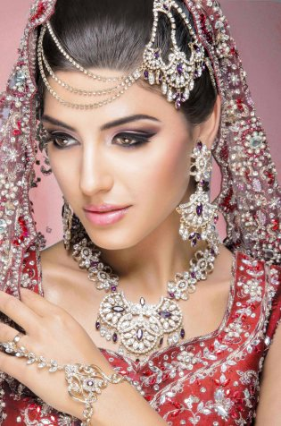 Latest Bridal Makeup By Rabia Shiraz For Wedding