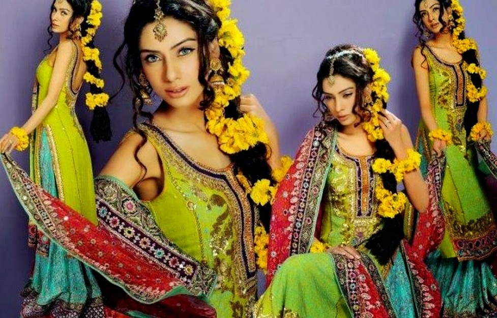Kashee S Mehndi Hairstyles : Latest bridal mehndi and hairstyling by kashee s