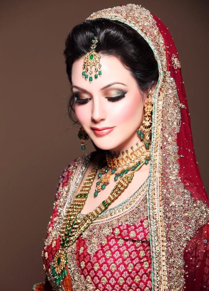 Best Bridal Makeup Parlour : Latest Dulhan Makeup by Kashees Beauty Parlour Complete ...