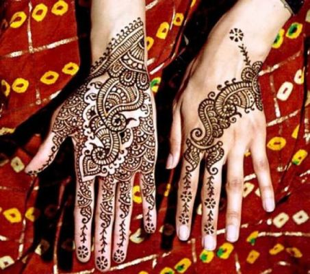 Latest Mehndi Designs By Kashif Aslam