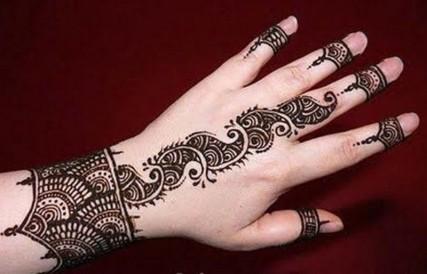 Latest Mehndi Designs By Kashif Aslam1