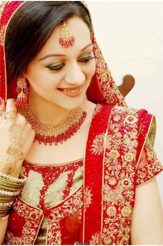 Model Bridal Makeup
