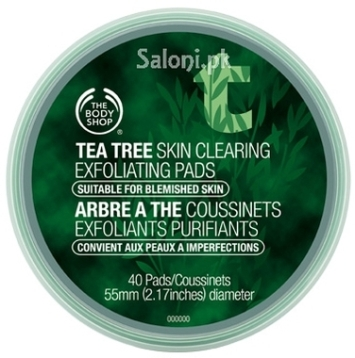 Saloni Product Review – The Body Shop Tea Tree Skin Clearing Exfoliating Pads