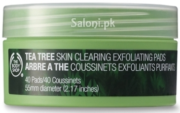 Saloni Product Review – The Body Shop Tea Tree Skin Clearing Exfoliating Pads1