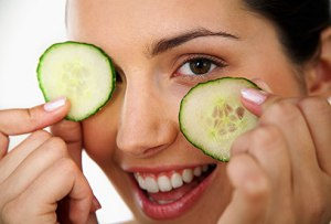 Cucumber is very useful for dark circles
