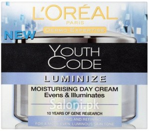L'oreal Paris Youth Code Luminize Moisturising Day Cream