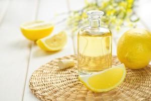 Olive Oil in Lemon
