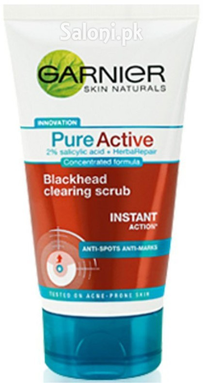 Saloni product review garnier pure active blackhead for Active salon supplies