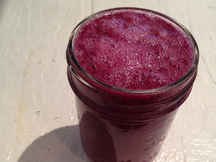Lemon-Blueberry Delectable Detox Smoothie – Saloni Health & Beauty ...