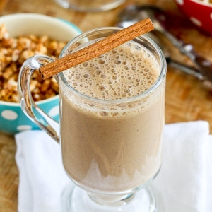 Healthy High-Protein Coffee Banana Smoothie