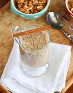 Healthy High-Protein Coffee Banana Smoothie1