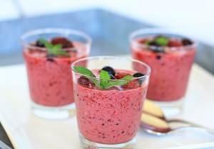 Pomegranate Cherry Smoothie