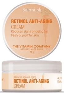 Saloni Product Review – The Vitamin Company Retinol Anti-Aging Cream