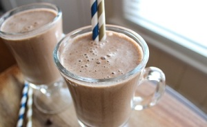 Healthy High-Protein Chocolate Espresso Smoothie