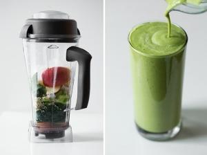 Healthy High-Protein Green Warrior Smoothie1