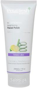 Saloni Product Review – Petal Fresh Whitening Brightening Facial Polish Lemon & Aloe