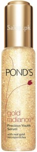 Saloni Product Review – Pond's Gold Radiance Serum