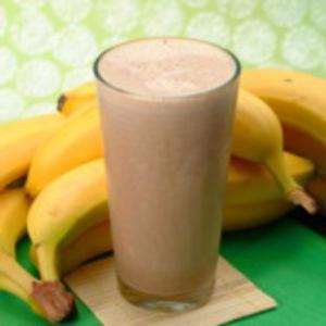 Chocolate, Peanut Butter, and Banana Shake1