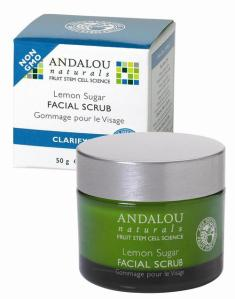 Saloni Product Review – Andalou Naturals Clarifying Lemon Sugar Facial Scrub