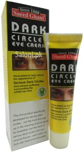Saloni Product Review – Saeed Ghani Dark Circles Eye Cream
