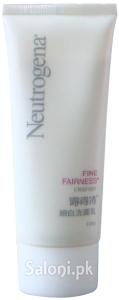 Saloni Product Review – Neutrogena Fine Fairness Cleanser